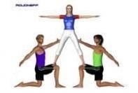 Yoga Poses Yoga 3 People